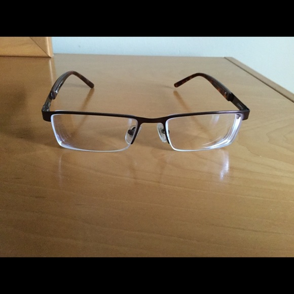 73013beac6a1 Gucci Accessories | Rx Glasses Brown Metal Plastic Frame | Poshmark